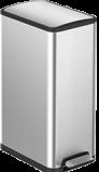 Afbeelding van EKO Ecoslim Pedaalemmer 45 Liter Zilver