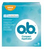 Afbeelding van Ob Tampons Pro Comfort Super Applicator, 16 stuks