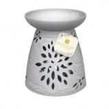 Afbeelding van Heart & Home Geurwax brander keramische bloem 1st