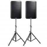"""Afbeelding van Alto Pro Truesonic TS212W actieve 12"""" speakerset met standaards..."""