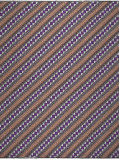 Imagine din Vlisco VL00034.130.06 Brown/Pink/Purple African print fabric Wax Hollandais Geometrical