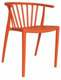 Afbeelding van Dimehouse Tuinstoel modern Nour oranje