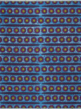Abbildung von Vlisco VL01304.001.04 Blue African print fabric Wax Hollandais Objects