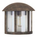 Afbeelding van Albert Leuchten gerlin buitenwandlamp in landhuisstijl bruin, gegoten aluminium, acrylglas, E27, 75 W, energie efficiëntie: A++, L: 23.5 cm, H: 21.5 cm