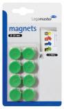 Afbeelding van Magneet LegaMaster 20mm 250gr Groen 8stuks