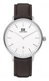 Afbeelding van Danish Design IQ12Q1175 herenhorloge zilver edelstaal