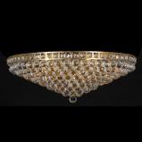 Afbeelding van Clayre & Eef Kristallamp plafondlamp antik color 27 x Ø80 cm 15x E14/