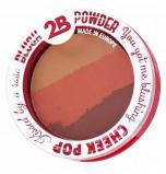 Afbeelding van 2B Blush Powder Trio 02 Orange