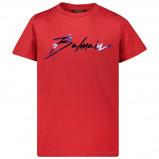 Afbeelding van Balmain 6l8541 Kinder T Shirt Rood