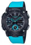 Afbeelding van Casio G Shock GA 2000 1A2ER Horloge Carbon Core Guard blauw 51,2 mm