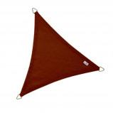 Afbeelding van Coolfit Schaduwzeil Driehoek 5x5x5m Terracotta