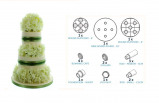 Afbeelding van CakeFrame Pouring Kit (voor Zwevende Taarten)