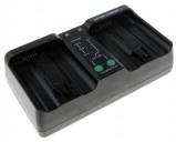 """Bild av """"Dubbelladdare för 2 batterier Nikon EN EL18 och EN EL18b"""""""