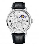 Afbeelding van Edox 01651 3 AR herenhorloge zilver edelstaal