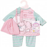 Image of My First Baby Annabell Mint and rose Baby Outfit (700570)