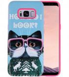 Afbeelding van 3D Print Hard Case voor Galaxy S8 I Look