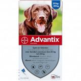 Image de Advantix 400/2000 Spot On Chien 25 40kg 4 pipettes