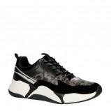Afbeelding van bullboxer 077003F5S sneakers zwart/panterprint