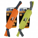Image of All For Paws Candy Squeaker Outdoor Ballistic Orange/Green