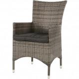Afbeelding van Lugo terrasstoel bruin/grijs