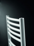 Afbeelding van Brugman Ibiza Rondo verticale radiator type Handdoekradiator 702 x 446