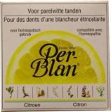 Afbeelding van Perblan Kruidentandpoeder Citroen, 30 gram