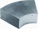 Afbeelding van Air Spiralo Bocht Instortkanaal 220x80 Rkb 45 Instortbocht