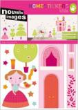Afbeelding van Nouvelles Images Muursticker Princesses