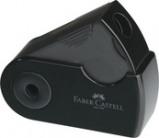 """Afbeelding van Faber Castell Puntenslijper """"Sleeve"""" Mini enkel zwart"""