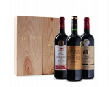 Afbeelding van Goudbekroonde Bordeaux Selectie in luxe houten kist (3 flessen)