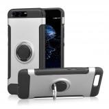 """Bilde av """"ANGIBABE Huawei P10 Deksel laget av metall, plastikk og silikon Sølv"""""""