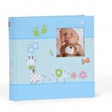 Afbeelding van Henzo Babyalbum S Baby Moments Blauw (40 pagina's)
