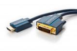 Afbeelding van DVI naar HDMI kabel professioneel 1 meter