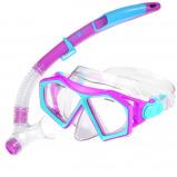 Afbeelding van Aqua Lung Sport Molokai DX Snorkelset Junior Paars