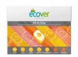 Afbeelding van Ecover Vaatwastabletten All In 1, 44 tabletten