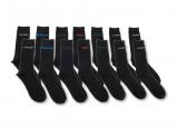 Afbeelding van 7 Days Socks paar zwarte heren sokken