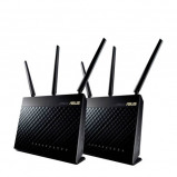 Afbeelding van Asus RT AC67U AiMesh duo pack router