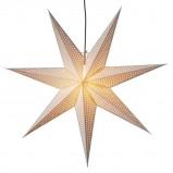 Afbeelding van Best Season grote papieren ster Huss 100 cm, wit, papier, E14, 25 W, energie efficiëntie: A++