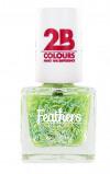 Afbeelding van 2B Nagellak Mega Colours 612 Feathers Green