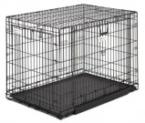 Afbeelding van Midwest Ovation Trainer Hondenbench (M) 78x56x61cm Zwart
