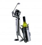 Afbeelding van Out of the Blue wijnstandaard metaal golfspeler