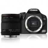 Afbeelding van Canon 450D + 18 200 Sigma Battery Grip Occasion