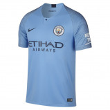 Abbildung von 2018/19 Manchester City FC Stadium Home Men's Football Shirt Blue