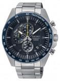 Afbeelding van Seiko SSB321P1 horloge chronograaf herenhorloge Zilverkleur