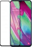 Afbeelding van Azuri Temperood Glass flat RINOX ARMOR voor Samsung A40 zwart