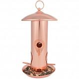 Abbildung von Esschert Design Best for Birds kupfer Saatensilo