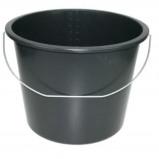 Afbeelding van Emsa Emmer 12 L met stalen hengsel zwart (set van 2)