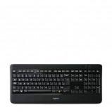 Afbeelding van Logitech K800 WIRELESS ILLUM KEYB toetsenbord