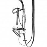 Abbildung von Harrys Horse Chic Zaumzeug (Farbe: schwarz, Maßgeschneidertes Pferd: Cob)