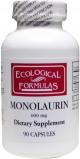 Afbeelding van Ecological Formulas Monolaurine 600 mg 90ca